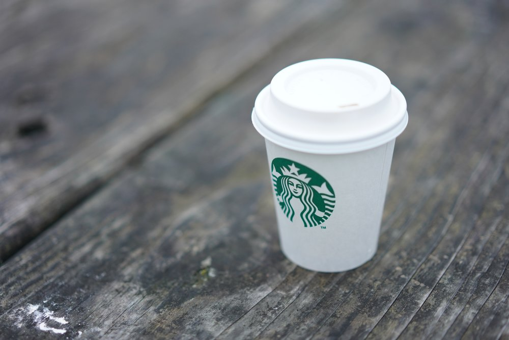 The Starbucks logo, which underwent several changes since its creation in 1971, is often thought as a mermaid when it is, in fact, a siren, often depicted with two wings or, in this case, tails.