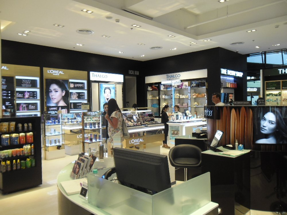 Contrary to other brands' sales report, Agon says he's not worried the trade war will affect the beauty sector.